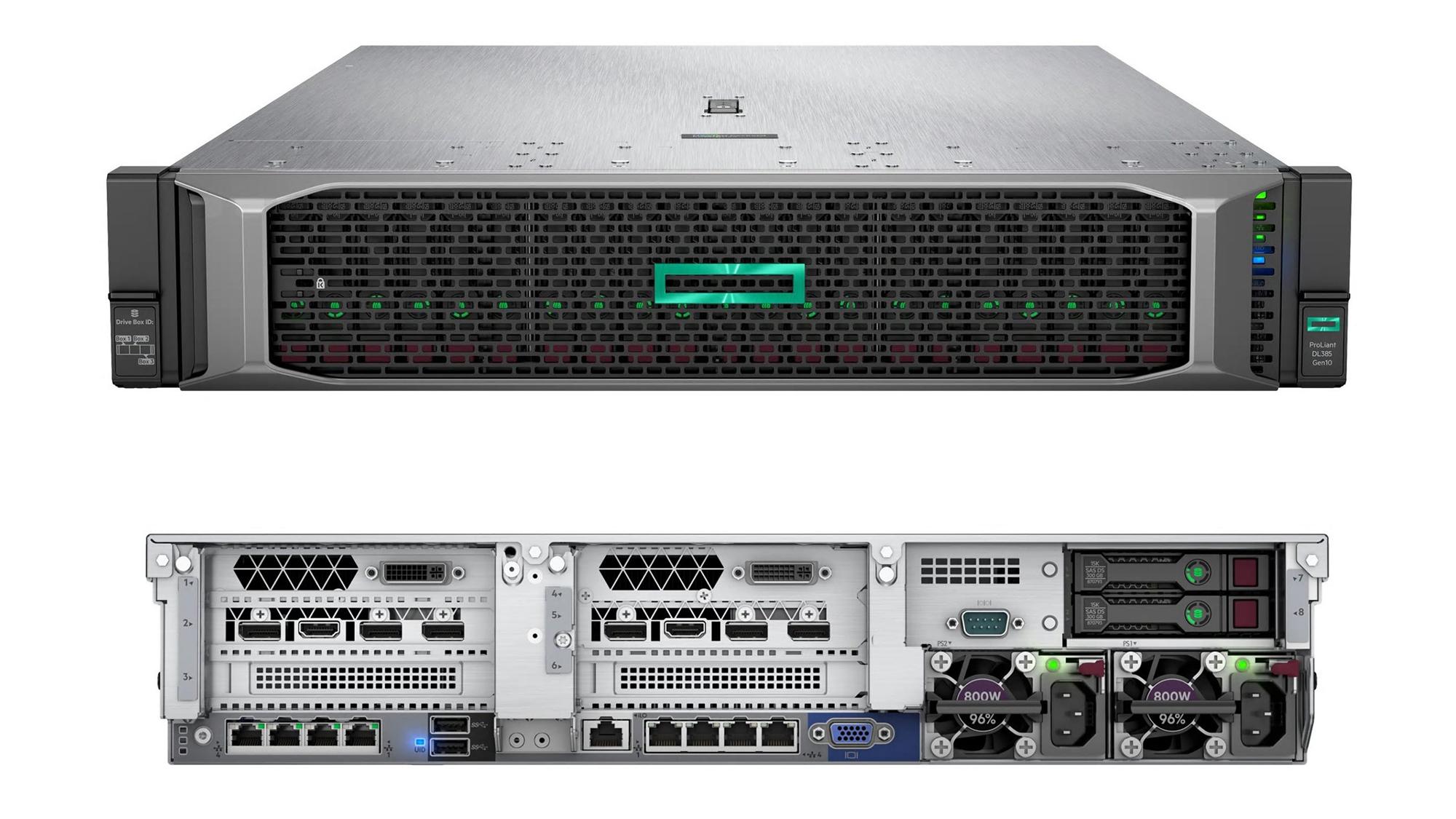 بررسی تخصصی سرورهای HPE DL385 GEN10