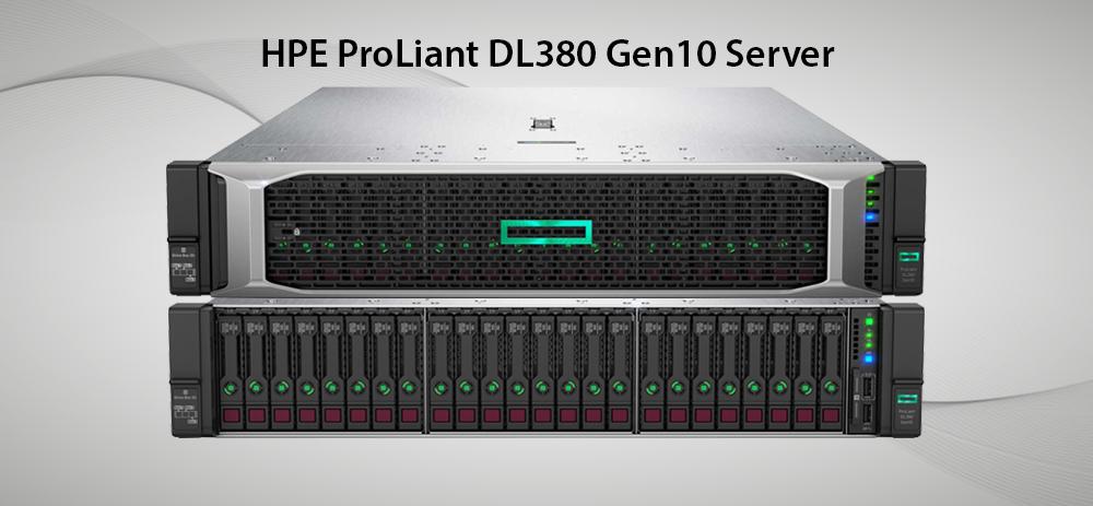 سرورهای ProLiant DL 380 GEN 10