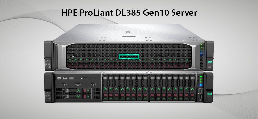 سرورهای ProLiant DL 385 GEN 10