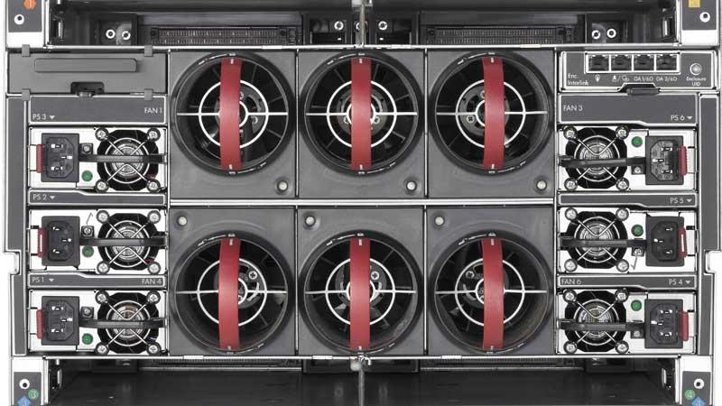 بررسی سرور تیغه ای HP BladeSystem c3000